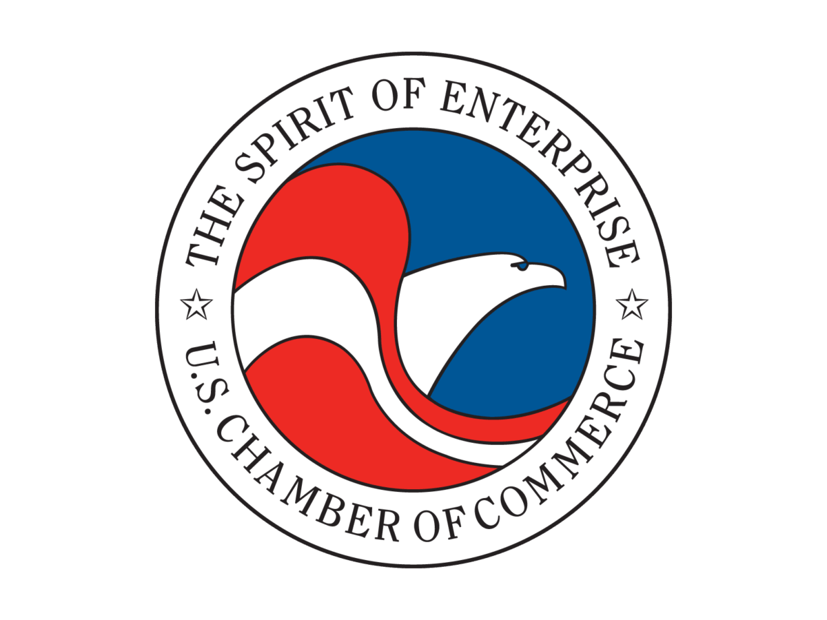 The US Chamber of Commerce's (USCC) logo